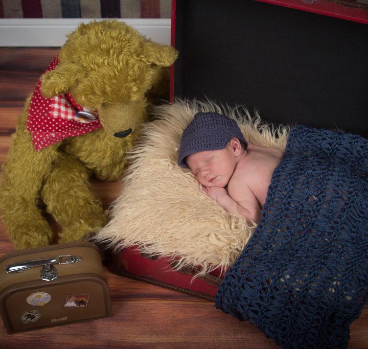 Fabian, 6 Tage jung | Neugeborenenfotografie Nürnberg